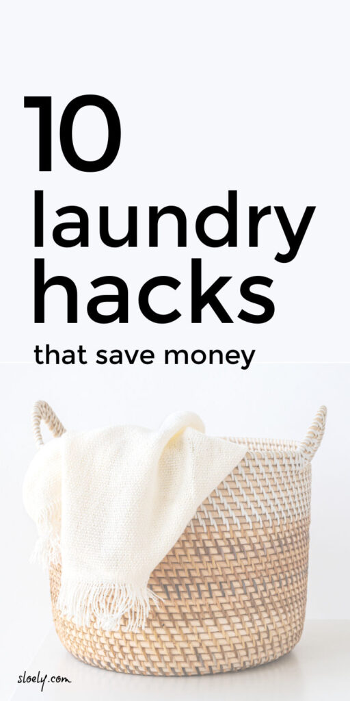 Money Saving Laundry Hacks