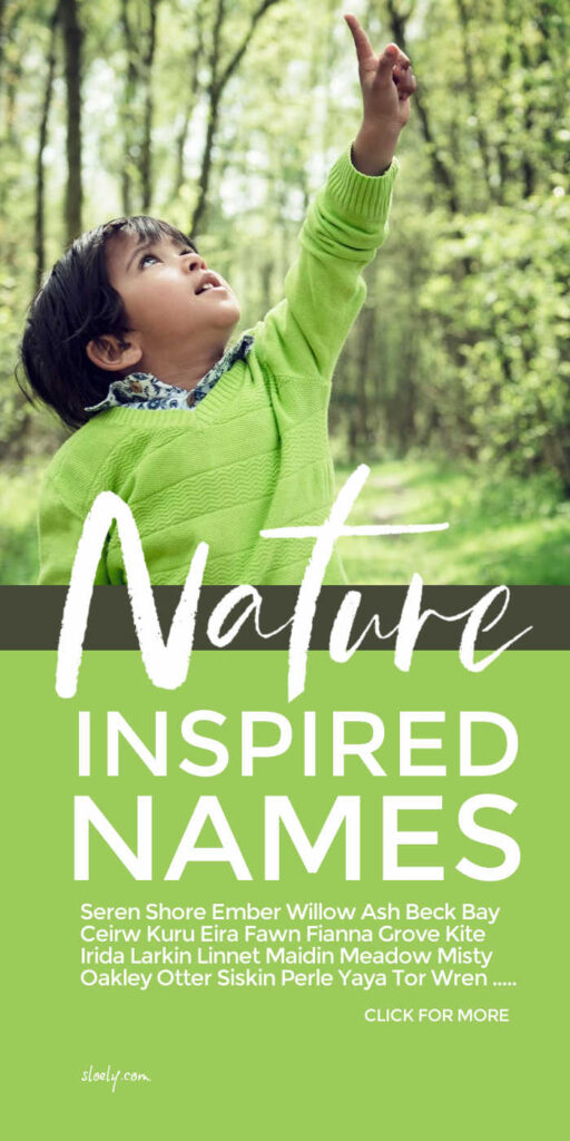 Unique Baby Names Inspired By Nature For Boys & Girls