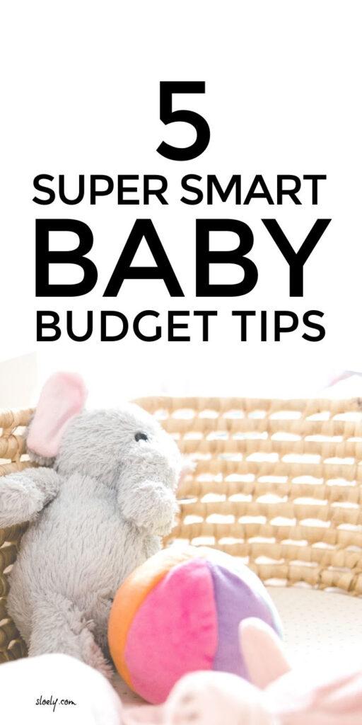 Money Saving Baby Budget Tips