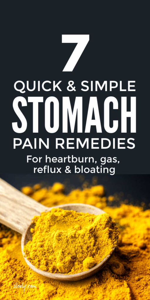 Stomach Pain Remedies & Relief
