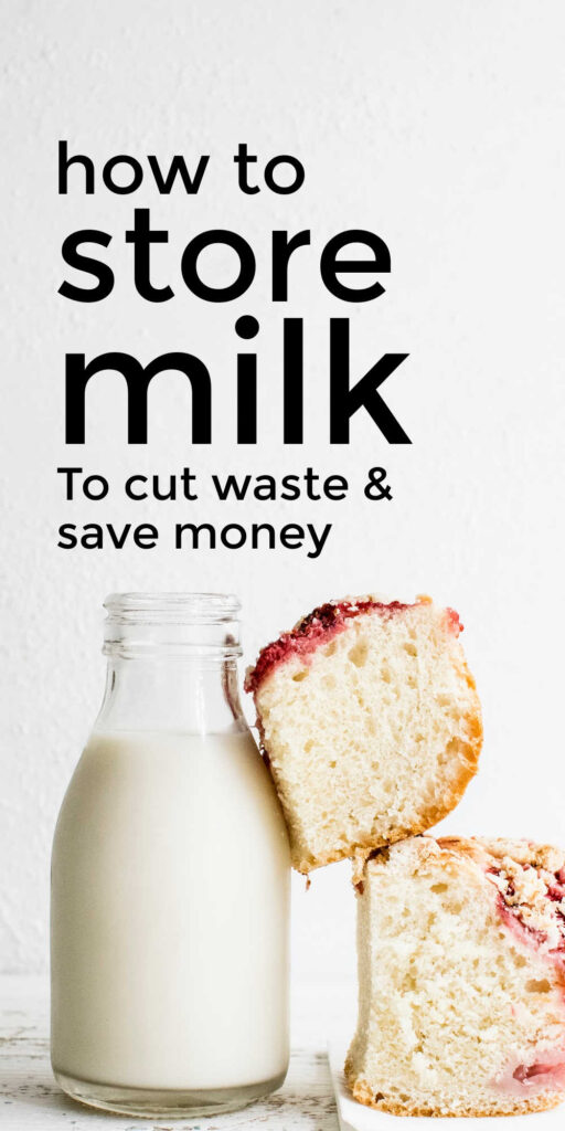 Best Way To Store Milk In Fridge & Freezer