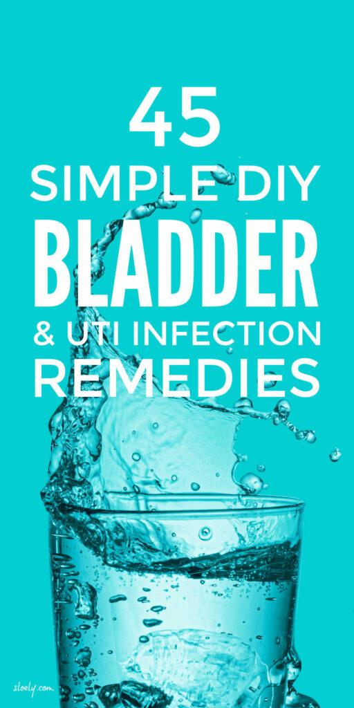 Simple DIY Bladder Infection & UTI Remedies