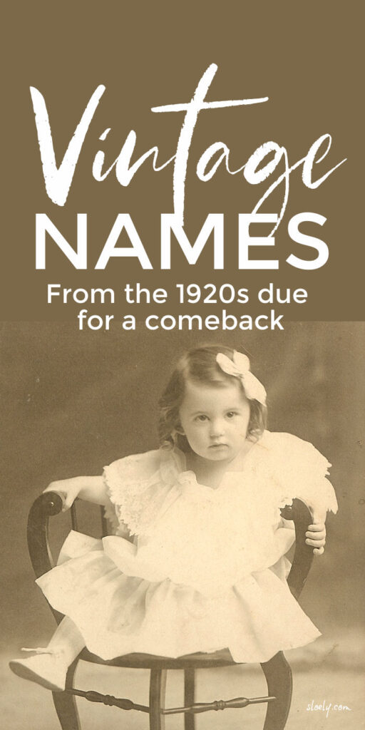 Unusual Vintage Baby Names For Girls