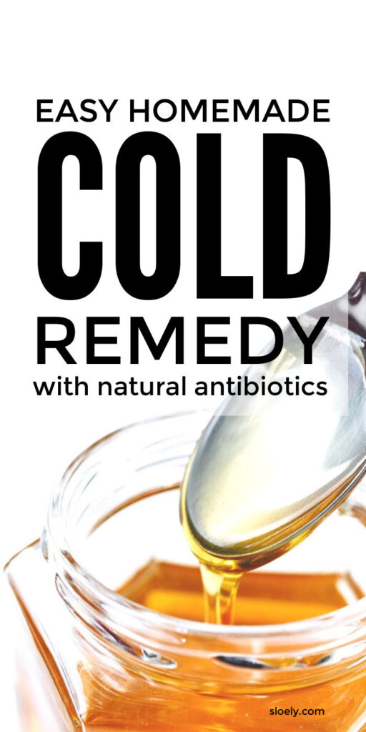 Easy Homemade Cold Remedy