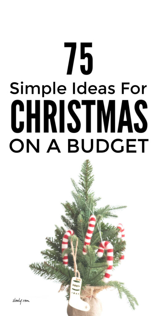 A Lovely Cheap Christmas On A Budget