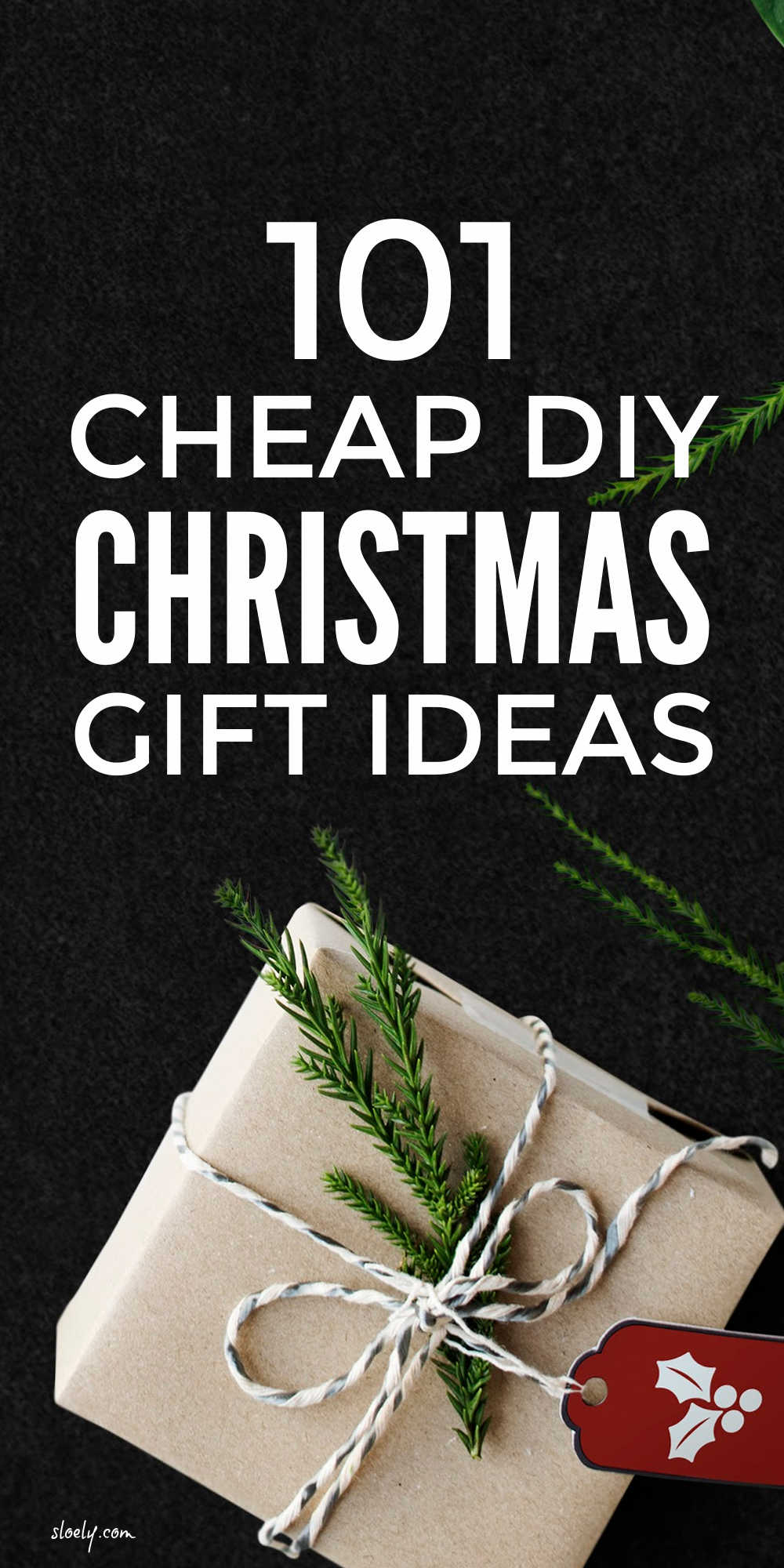 Cheap DIY Christmas Gift Ideas