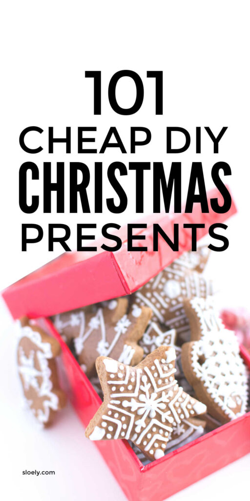 Cheap DIY Christmas Gifts For Family