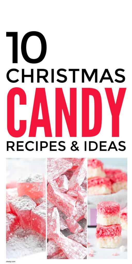 Homemade Christmas Candy Recipes