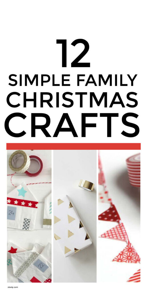 Easy Christmas Crafts For Kids & Adults