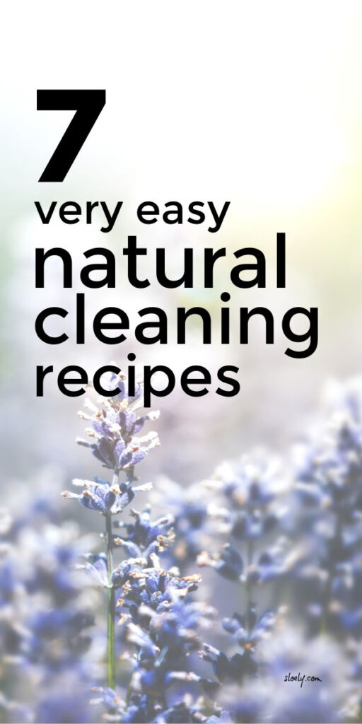 Easy Natural Cleaning Recipes