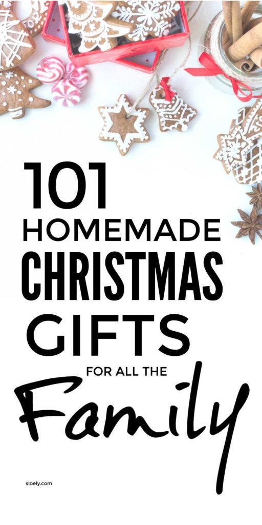 Homemade DIY Christmas Gifts