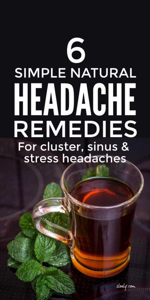 Simple Headache Remedies