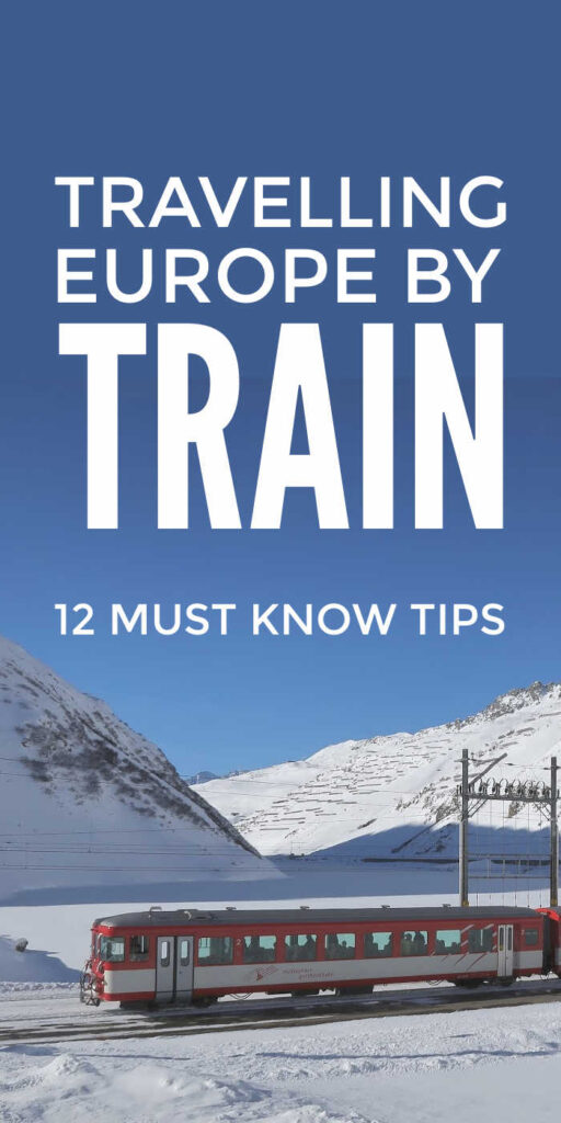 European Train Travel Tips