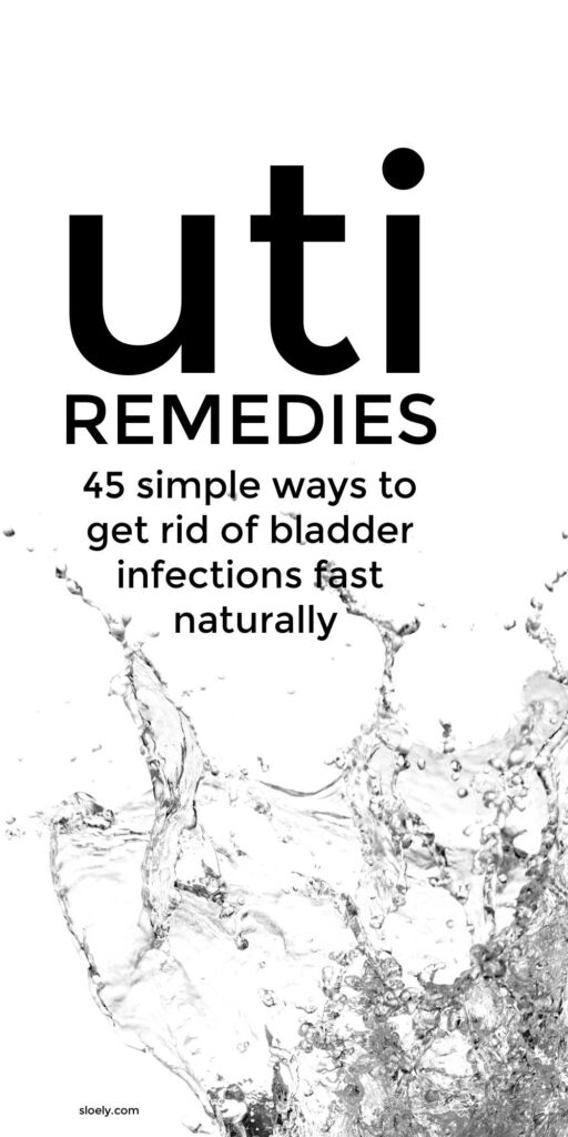 UTI and Bladder Infection Home Remedies
