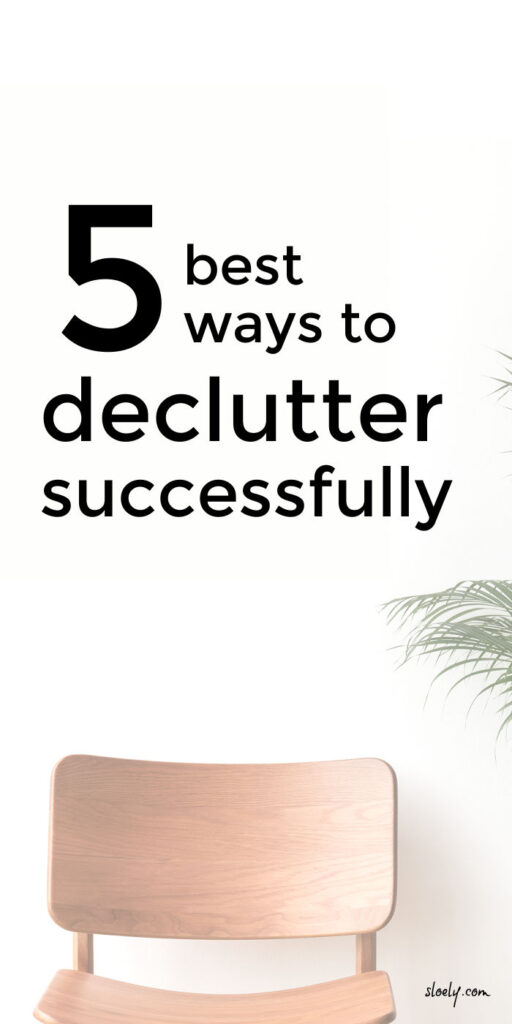 Best Way To Declutter Your Home