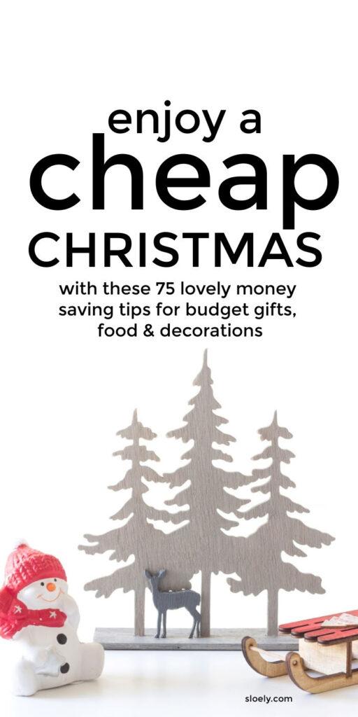 Cheap Christmas Tips