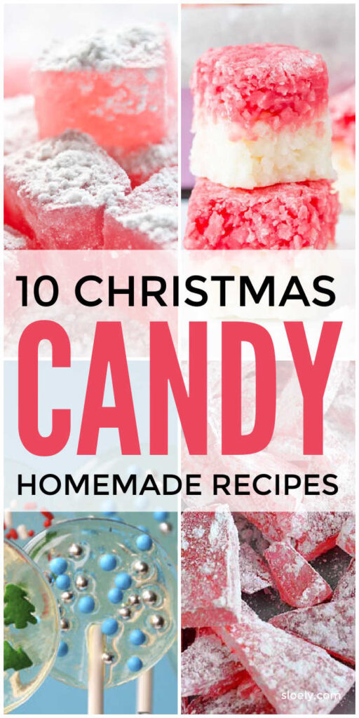 Homemade Christmas Candy Recipes