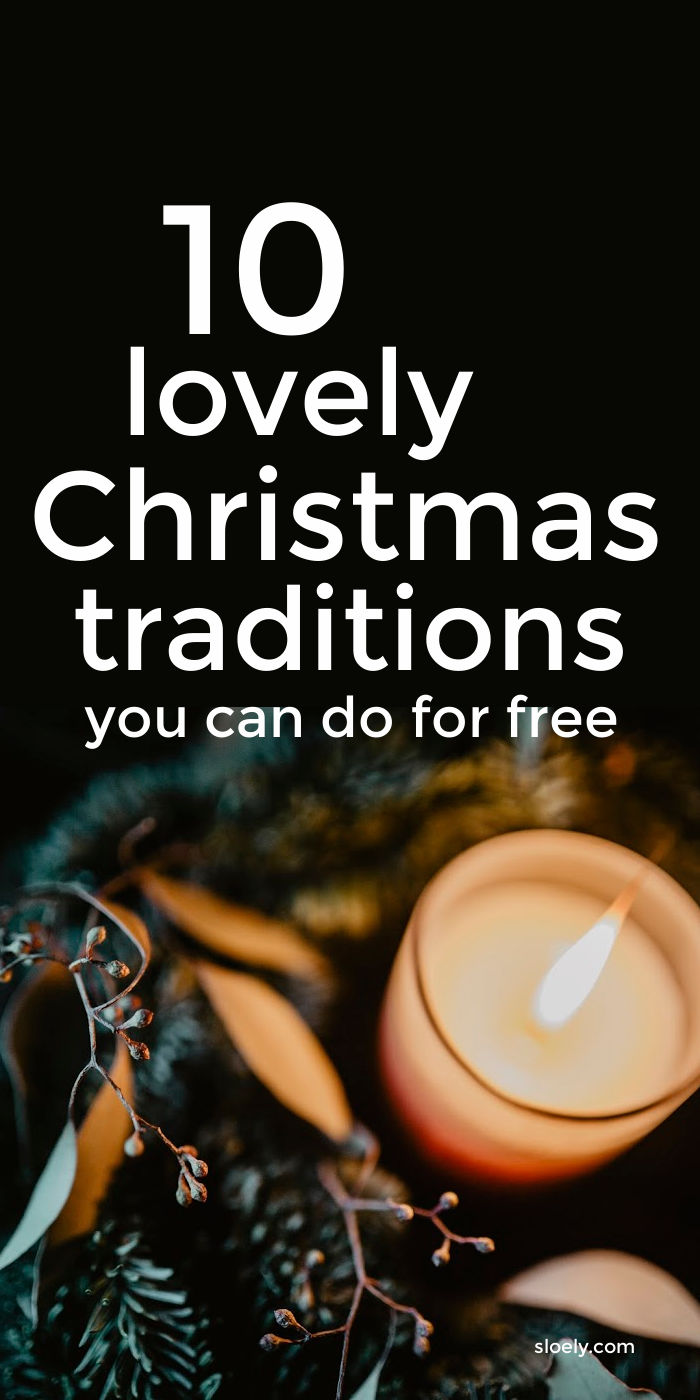 Cheap Christmas Traditions