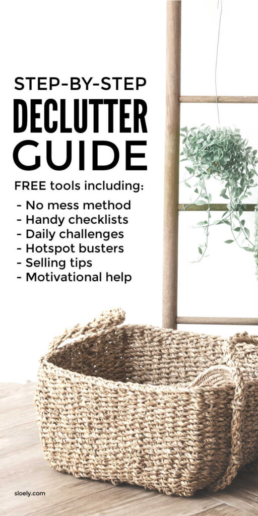 Simple Step By Step Declutter Guide