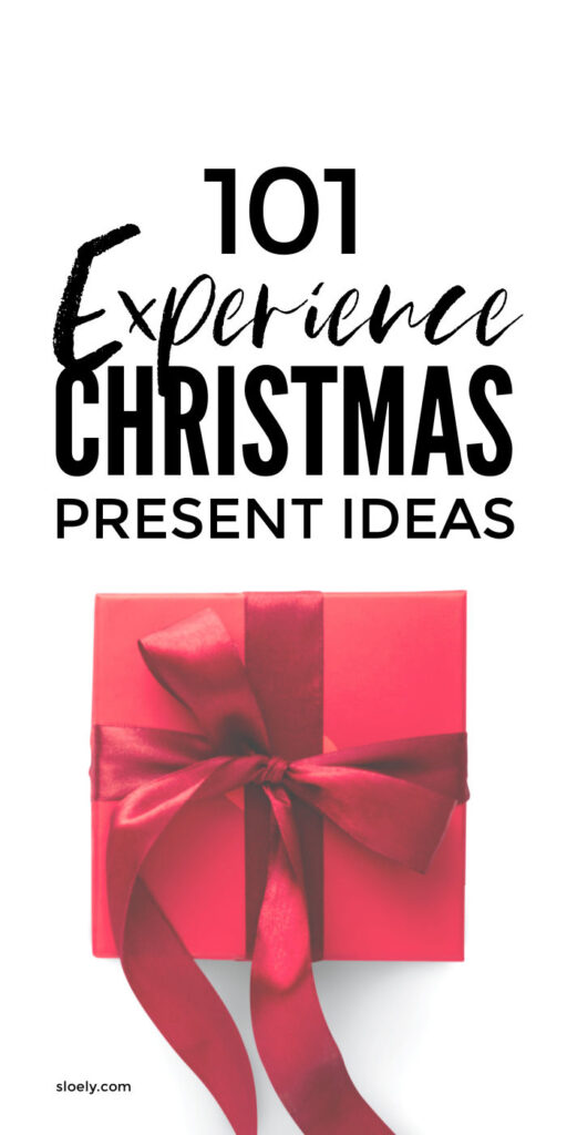 Experience Christmas Gifts