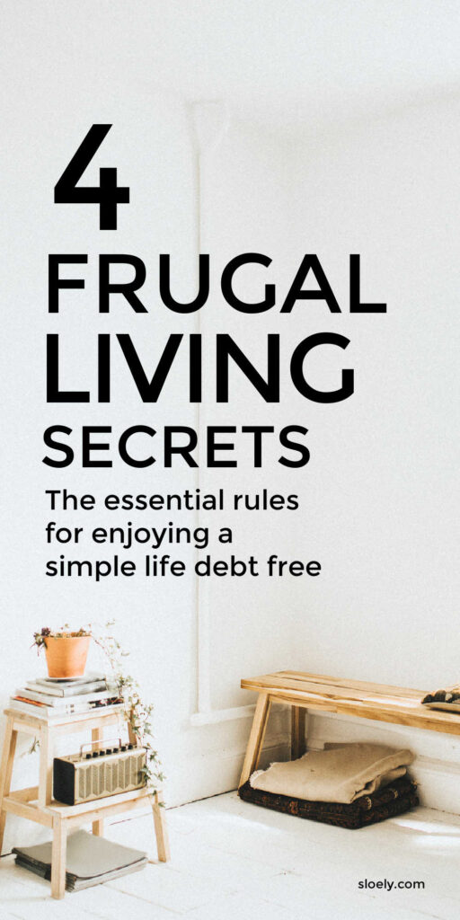 Simple Frugal Living Tips