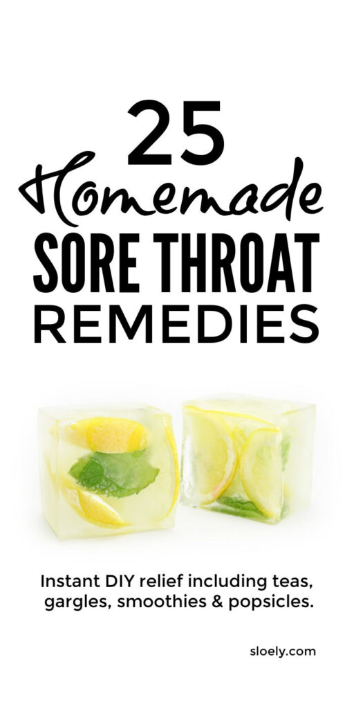 Home Remedies For Sore Throats