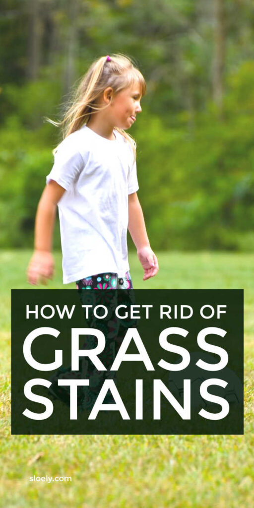 How To Get Rid Of Grass Stains