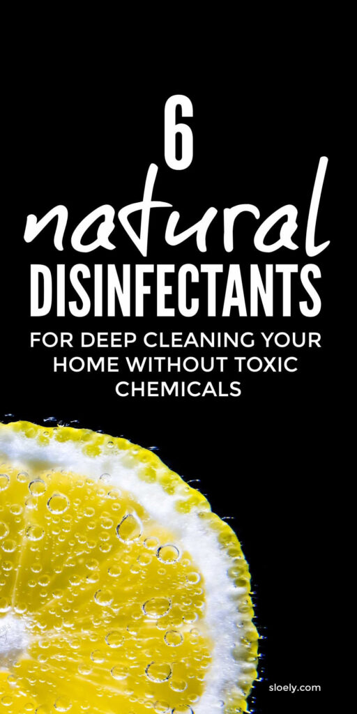 Natural Disinfectant Cleaning