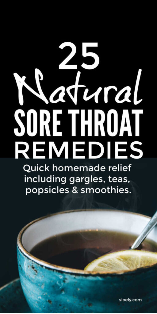 Natural Sore Throat Remedies For Kids and Adults