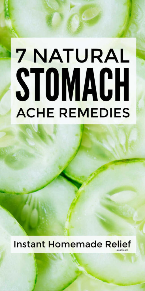 Stomach Ache Remedies