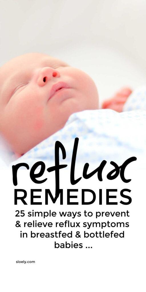 Baby Reflux Remedies