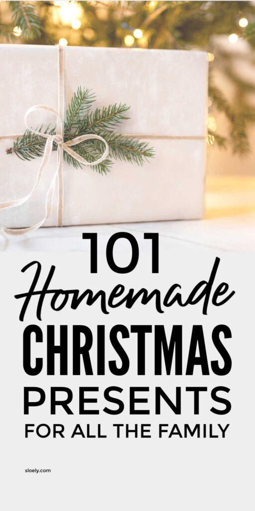 Easy Homemade Christmas Gifts