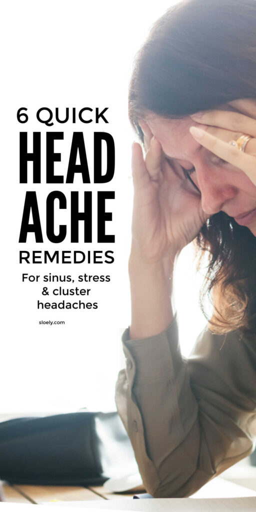 Headache Remedies and Relief