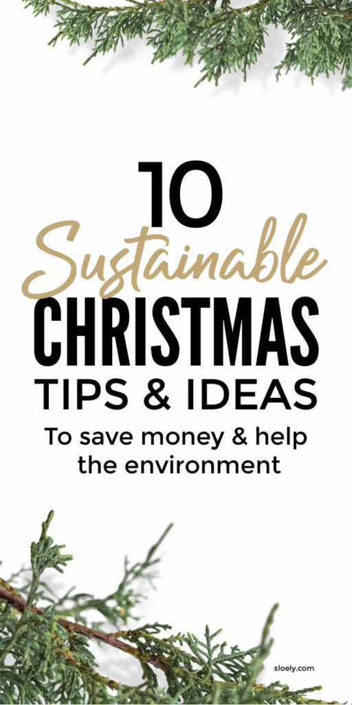 Sustainable Christmas Tips