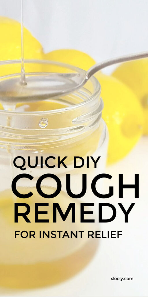 DIY Cough Remedy For Adults and For Kids