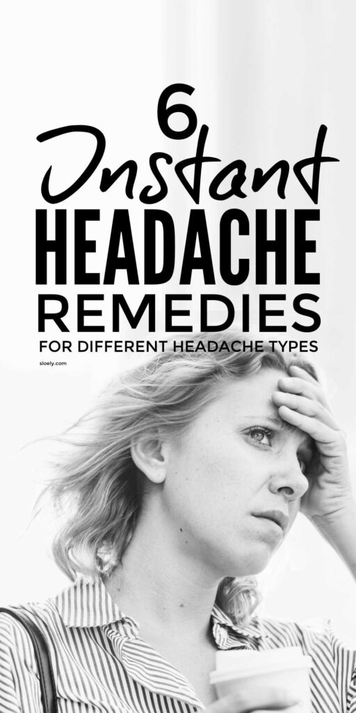 Instant Headache Relief and Remedies