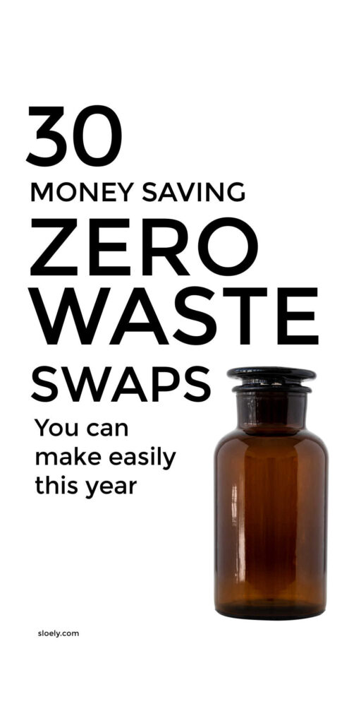 Money Saving Zero Waste Swaps