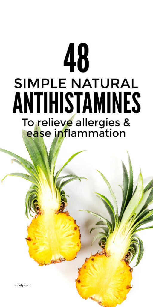 Natural Antihistamines For Allergy Relief