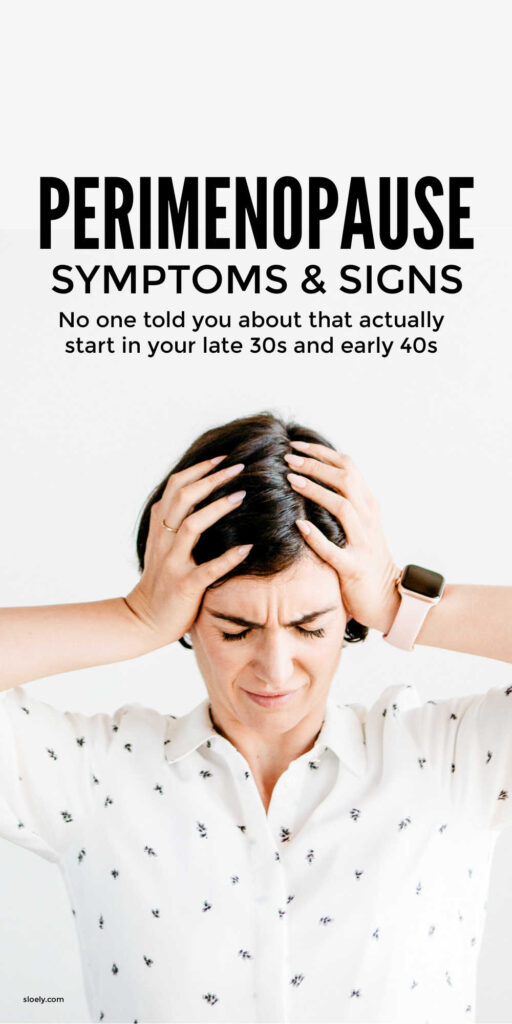 Perimenopause Symptoms and Signs