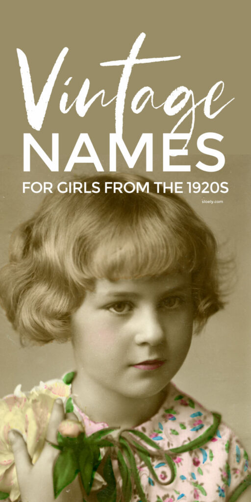 Rare Vintage Baby Names For Girls