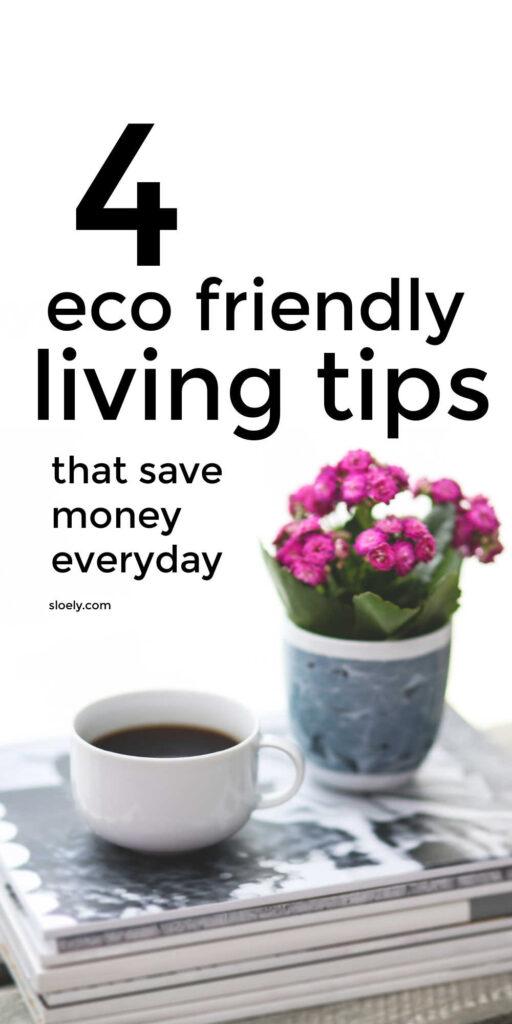 Eco Friendly Ways To Save Money Every Day