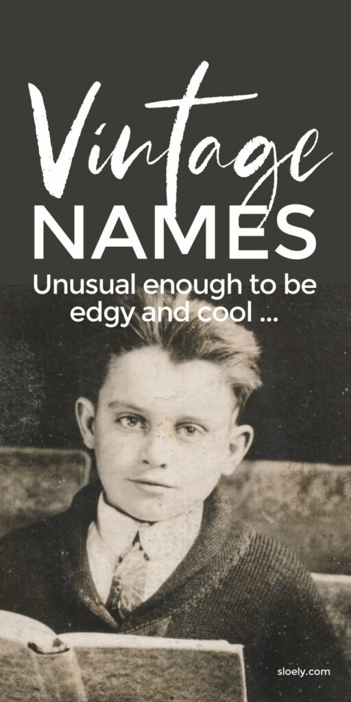 Vintage Boys Baby Names Unusual Enough To Be Cool