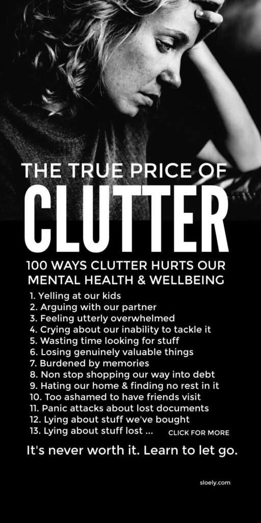 Clutter, Mental Health & Wellbeing