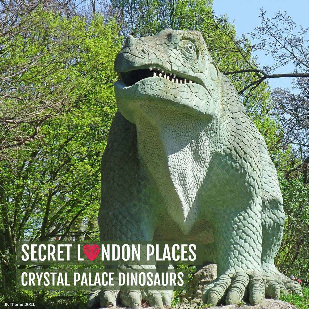Free Things To Do In London - Crystal Palace Dinosaurs