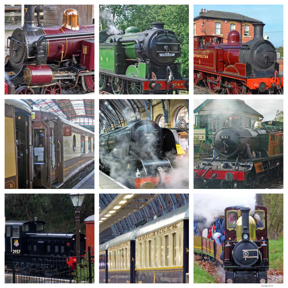 London Steam Trains And Railways