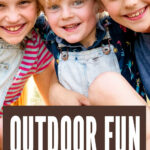 Outdoor Fun Bucket List For Kids