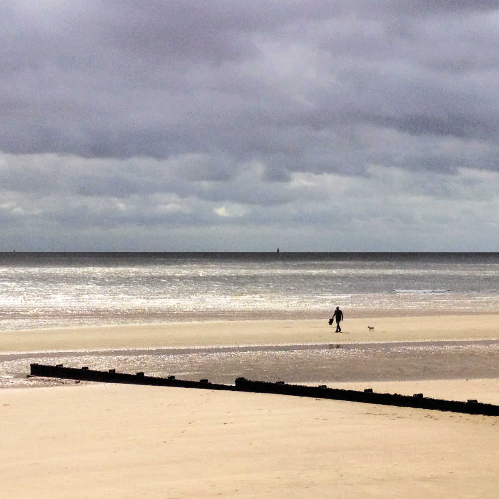 Sandy Beach Frinton Essex