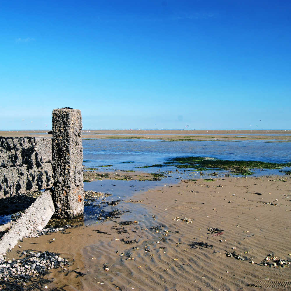 Shoeburyness Sandy Beach Essex