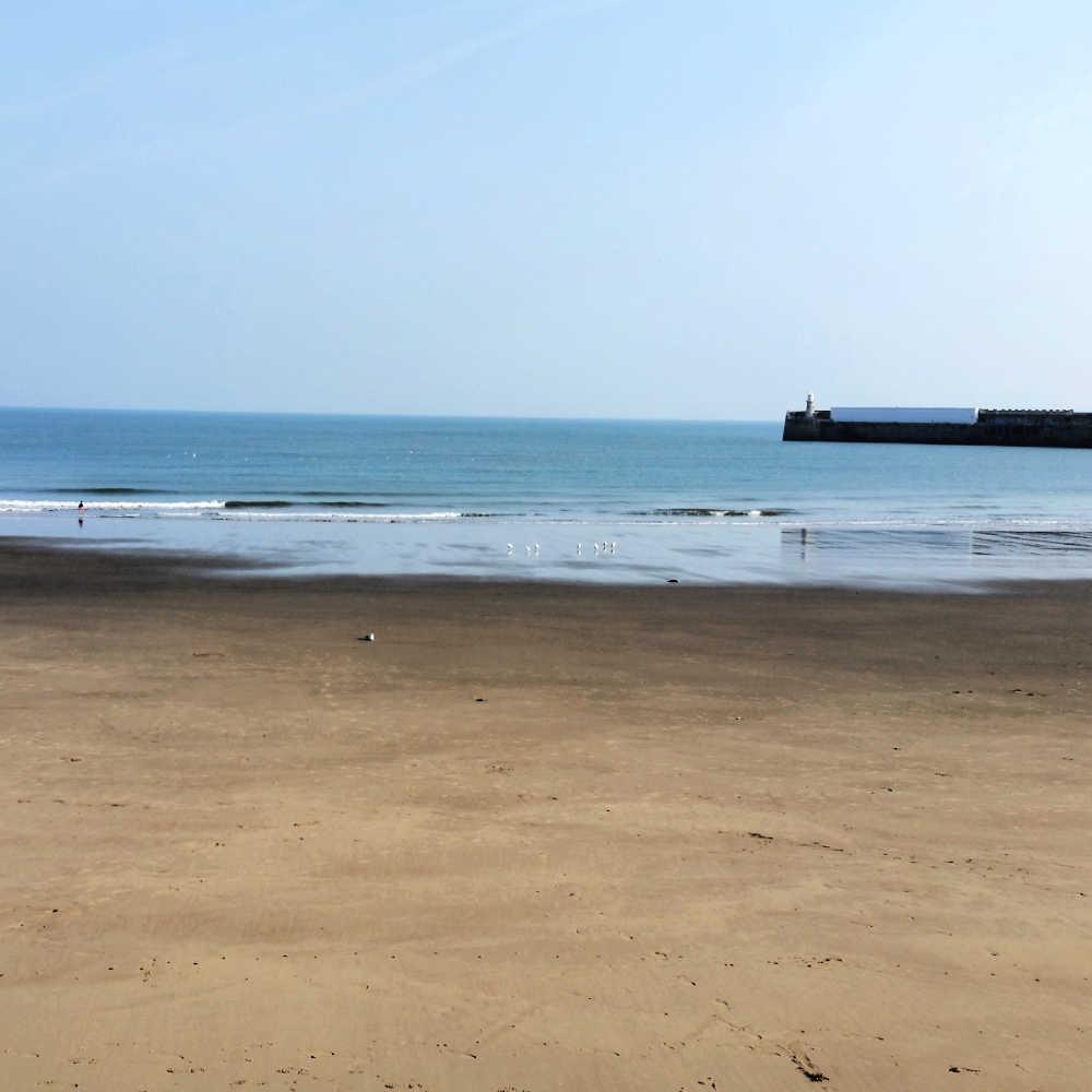 Sunny Sands Beach Folkestone Kent