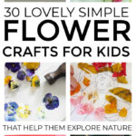 Flower Crafts For Kids To Explore Nature